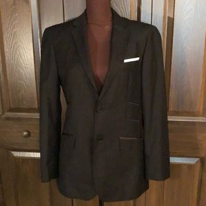 NWOT Giorgio Armani Black Wool Blazer IT 46 US 36